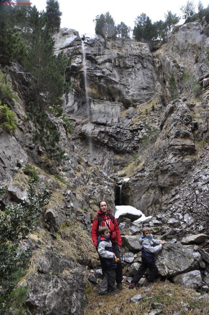 Torrente de agua del Salto de La Biella
