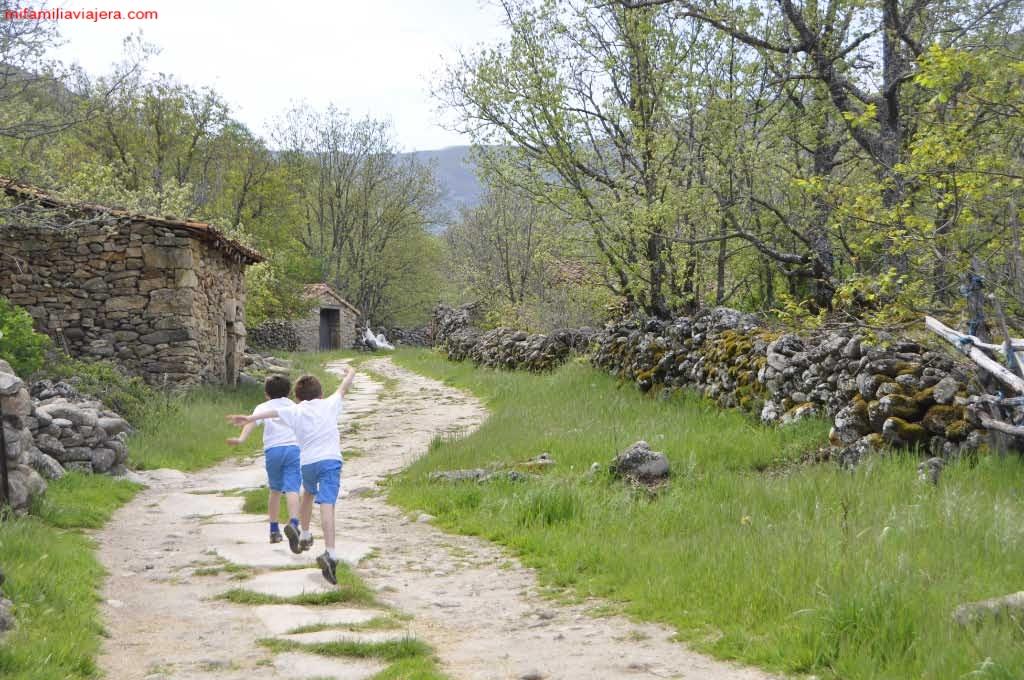 Inicio de la ruta. Cañada de Vallijuelo