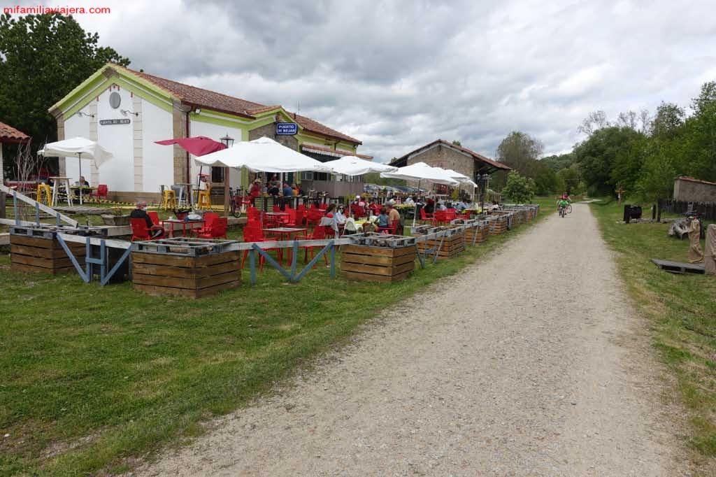 Restaurante con terraza del Puerto de Béjar