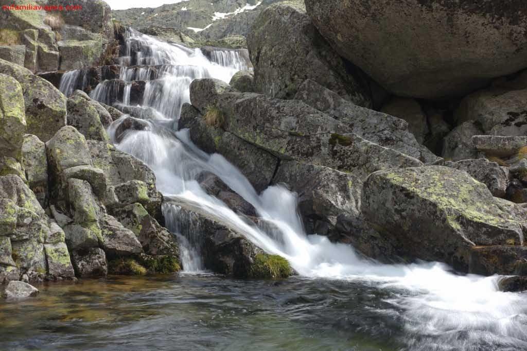 Salto de agua de Las Hoyuelas