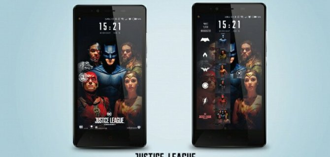 preview 4 justice league theme