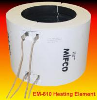 Gas fired melting furnaces and electric melting furnaces