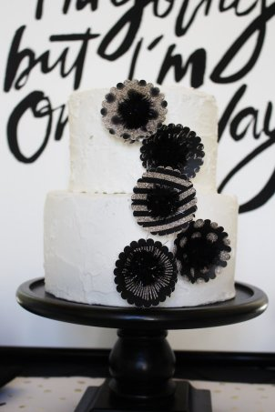 black-white-gold-graduation-party-via-karas-party-ideas-karaspartyideas-com3_