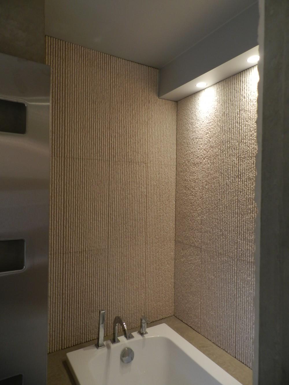 Réaménagement d'une salle de bain, intimiste et raffinée