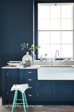 Kitchen - Hicks Blue
