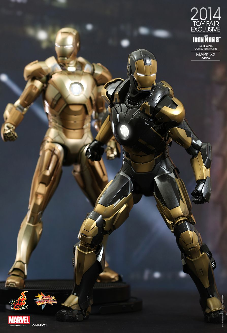 Marvels Iron Man Mark XX Python Action Figure By Hot