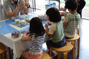 週末の子どもたちの居場所づくり「特別体験教室」。