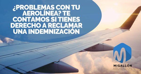reclamaciones a aerolíneas