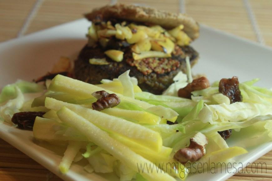 Hamburguesas vegetarianas 1