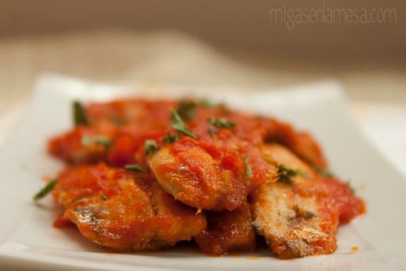 Sardinas en tomate