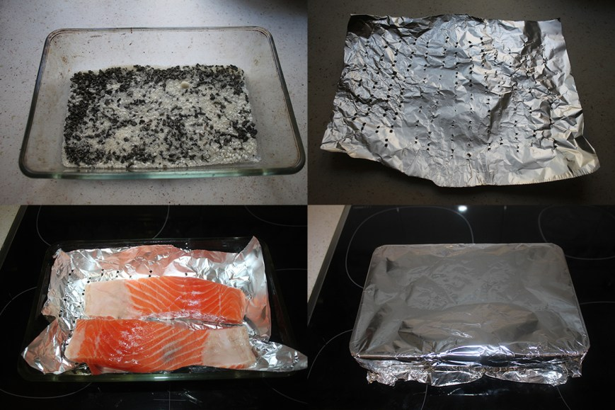 Salmon te verde PaP