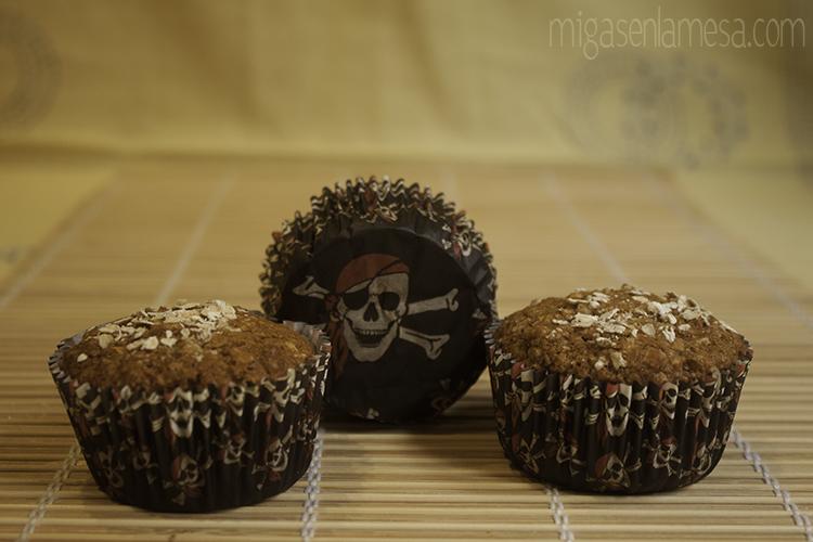 Muffins integrales avena 3