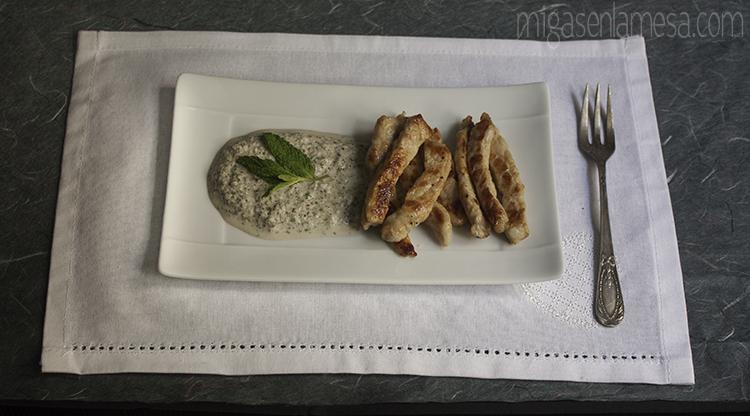 Lomo salsa rabanos 4