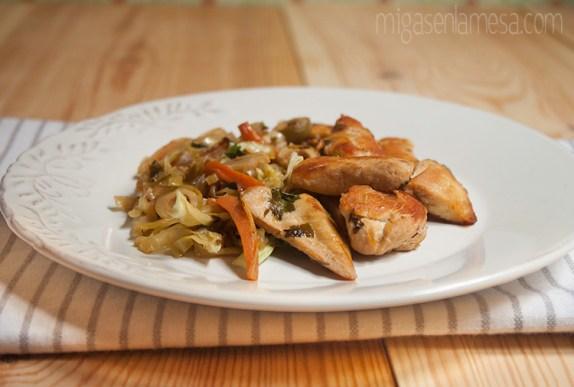 Pollo a la portuguesa 3