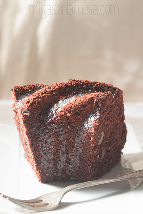Chocolate zucchini bundt 3