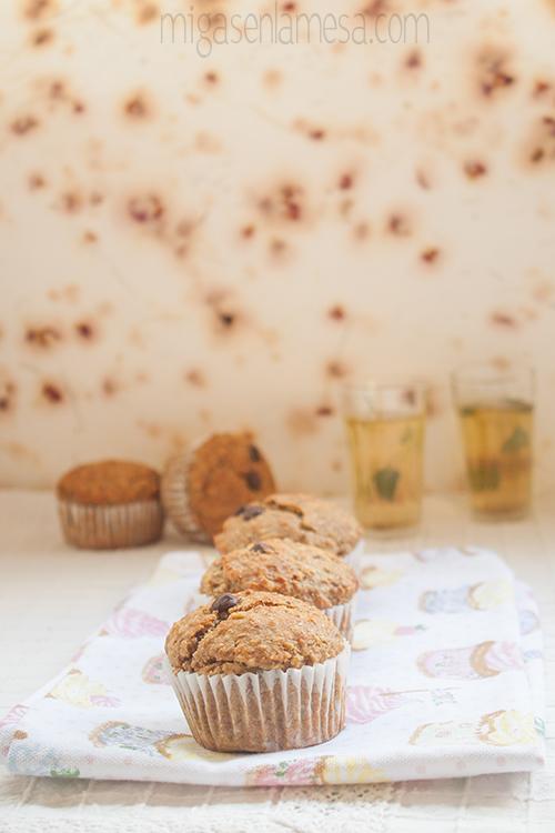 Muffins avena platano 5