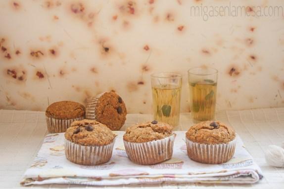 Muffins avena platano 6