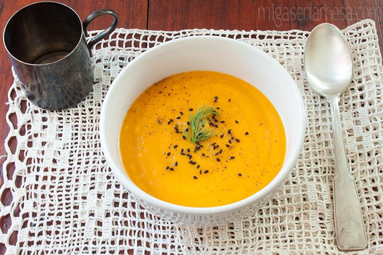 Crema hinojo zanahoria 6