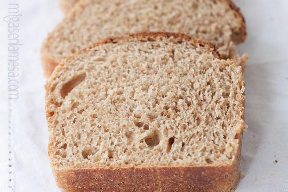 Pan de molde lavanda 4