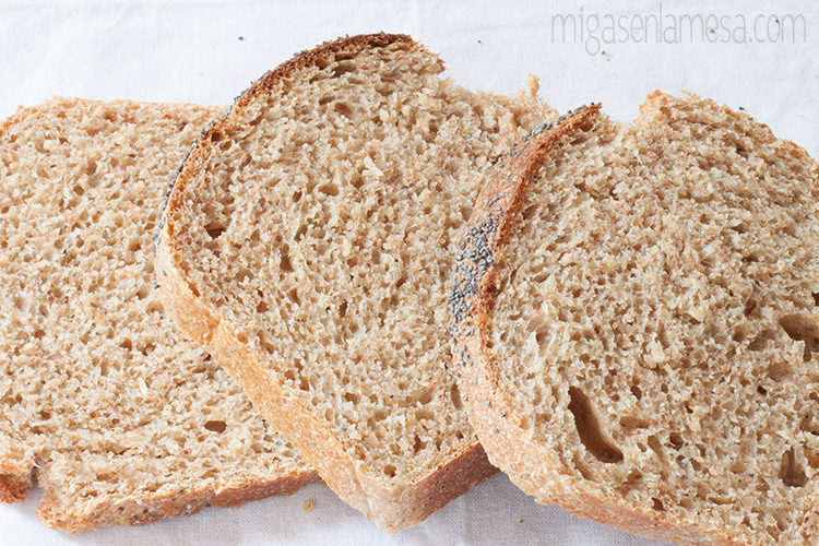 Pan de molde lavanda 6