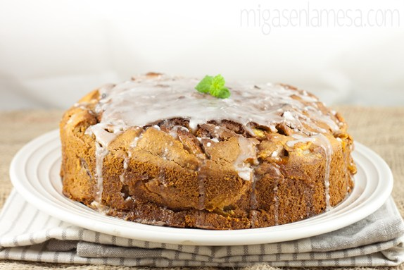 Coffee cake manzana 2