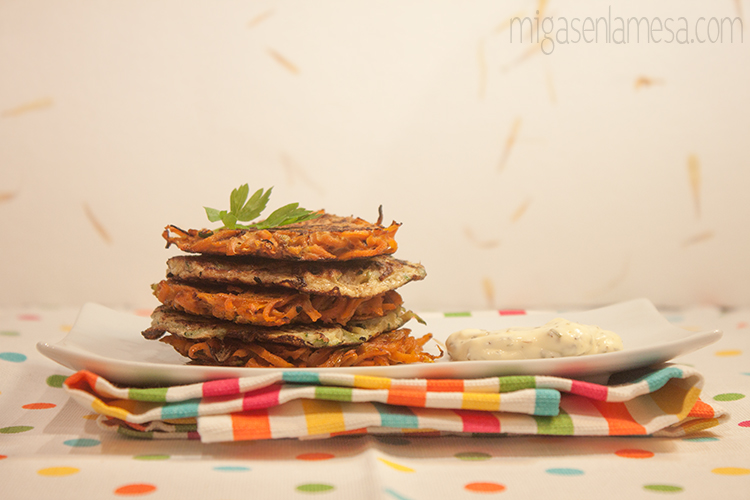 Tortitas de verdura