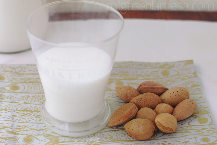 LECHE DE ALMENDRAS [Sustituto de la leche | El planeta te da las gracias]