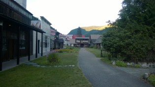 Ghost town's main street