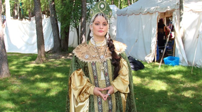 Mandy Stephenson at Blackrock Medieval Fest 2015