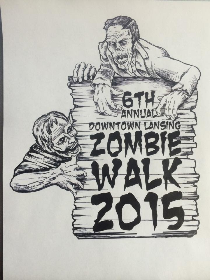 6th annual downtown lansing zombie walk with halloween right around the corner we invite you to lansings how to halloween event this family friendly festival celebrates the do it yourself solutioingenieria Choice Image