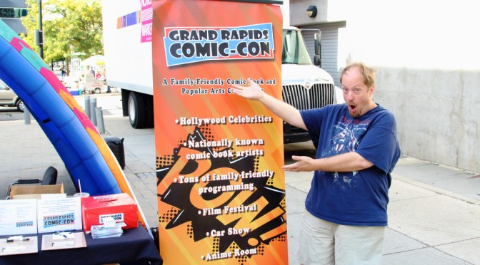 Grand Rapids Comic Con Interview