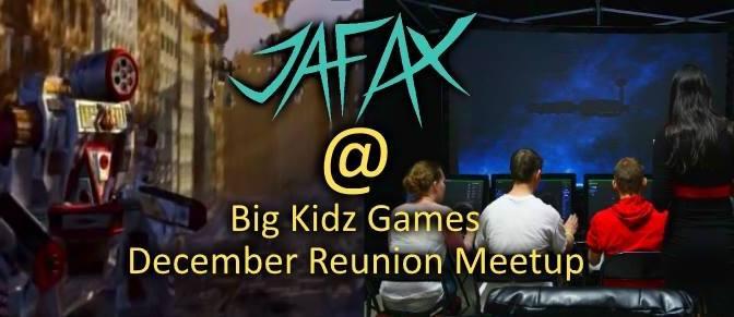 JAFAX December Reunion: Return of the BattleTech Pods!