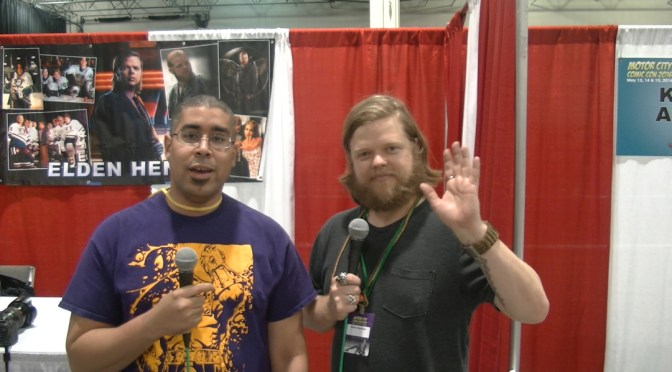 Elden Henson at the Motor City City Comic Con 2016