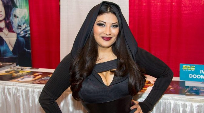 Ivy Doomkitty at the Motor City Comic Con 2016