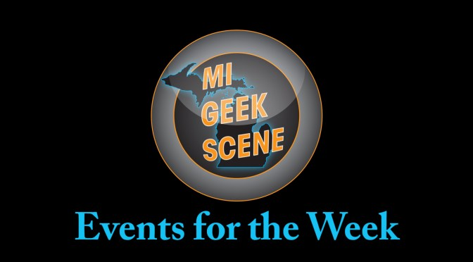 Events for the Week March 27th – April 2nd
