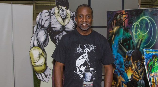 Andre Batts at the Monroe Comic Con 2016