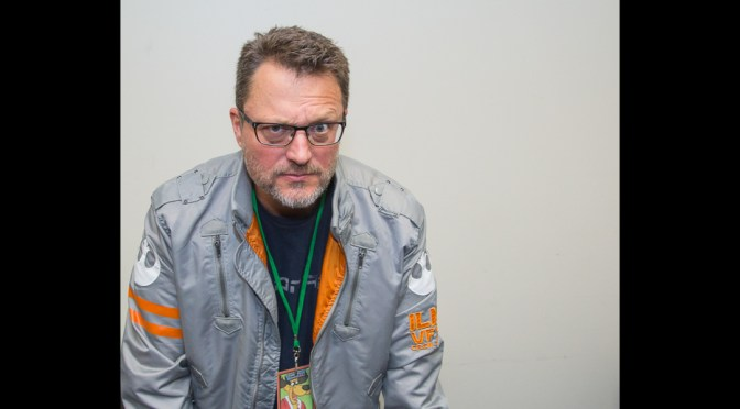 Steve Blum at the Grand Rapids Comic Con 2016