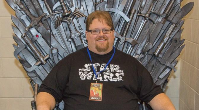 Rob Miller at the Grand Rapids Comic Con 2016