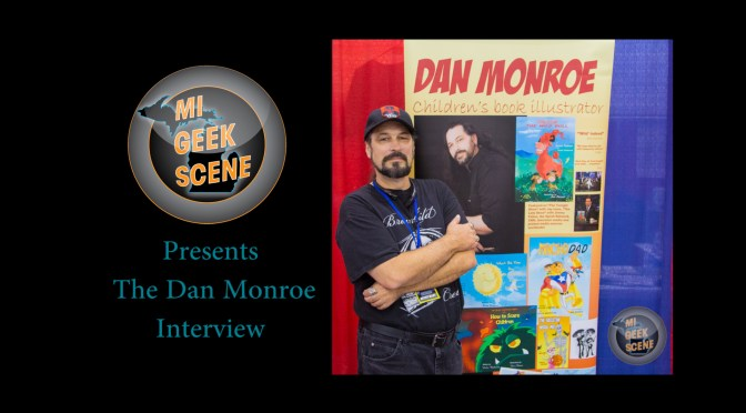 Dan Monroe at the Grand Rapids Comic Con 2017