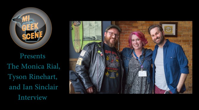 Monica Rial, Tyson Rinehart, and Ian Sinclair at Shuto Con 2018 (Audio Interview)