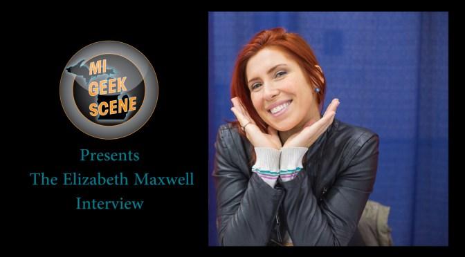 Elizabeth Maxwell (RWBY) at the Grand Rapids Comic Con 2018
