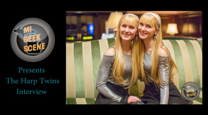 Harp Twins at the Grand Rapids Comic Con 2018