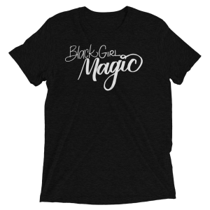 Black Girl Magic Hand Lettered by Lina