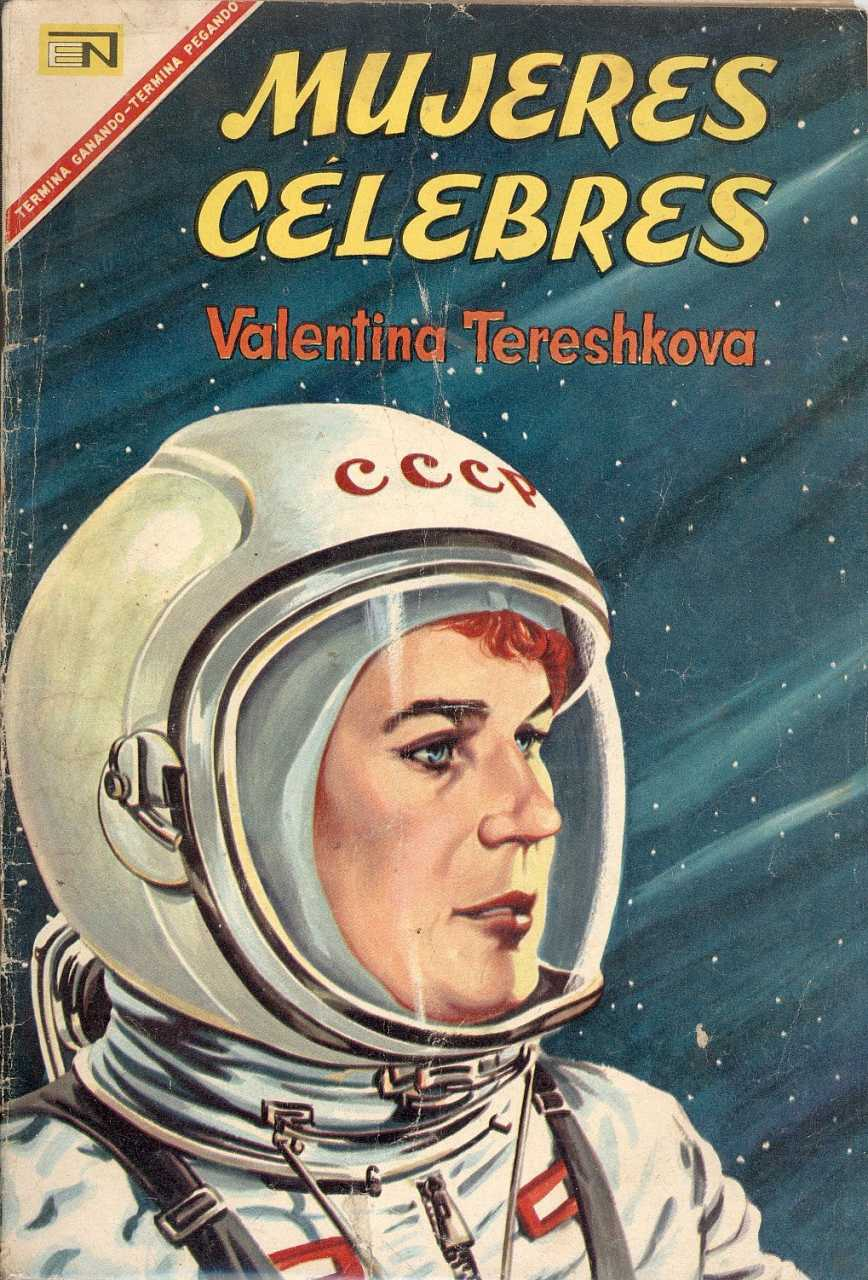 Valentina: The Unlikely Cosmonaut  Mightier Than The Sword Uk Publications