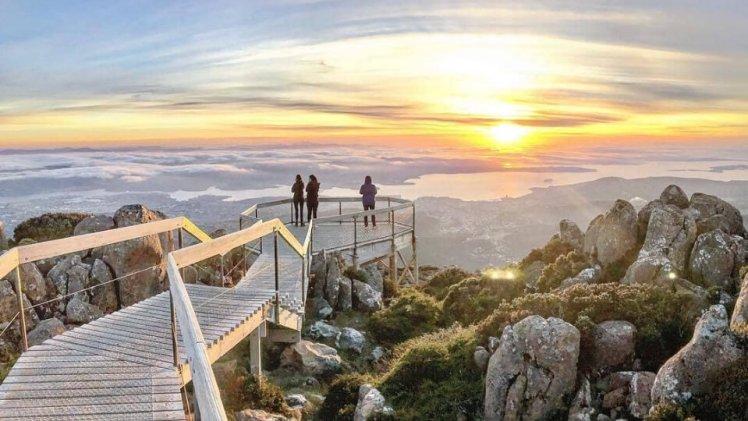 オーストラリアのおすすめ観光スポット【ウェリントン山】