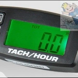 Engine Rev and Hour Meter