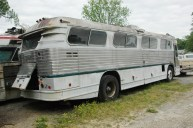 Old GM bus