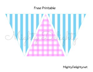 lemonade stand bunting water mark image