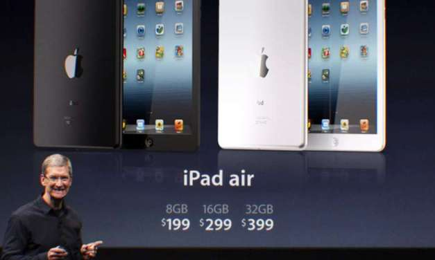 Apple iPad Air Launched – iPad 5