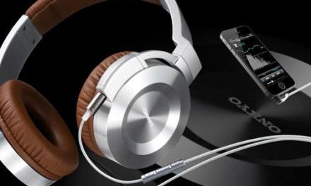 Onkyo iOS compatible headphones with high-res audio app